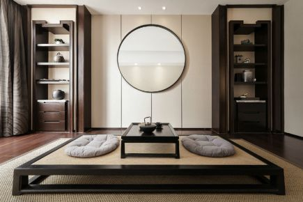 扬州念香苑中式风格四居室装修案例