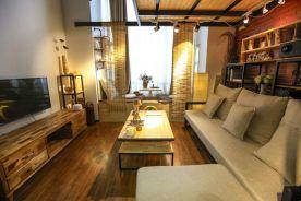 扬州兰湾国际复古风格三居室装修案例