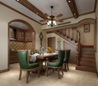 美式设计风格装修效果图 美式风格四房装修设计