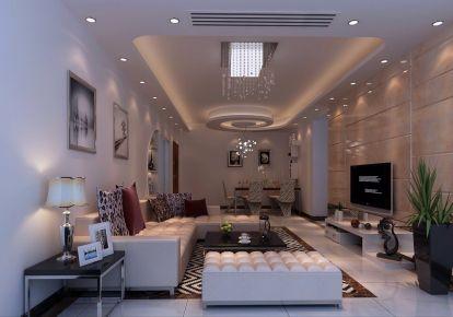 怡翠世嘉  三居室中式设计效果图