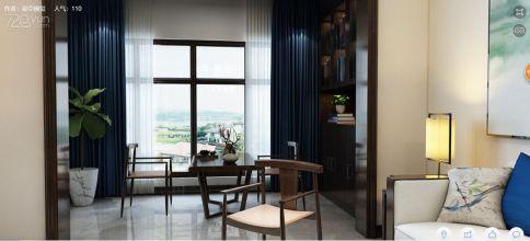 新中式简约风格家庭装修鉴赏 新中式风格三房装修效果图