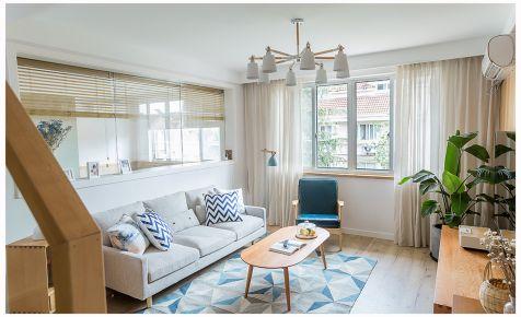 简朴日式风格三居室装修效果图
