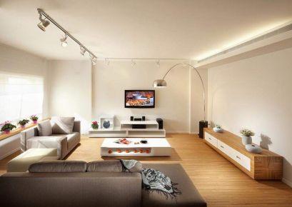 台州金悦花园现代风格三居室装修效果图