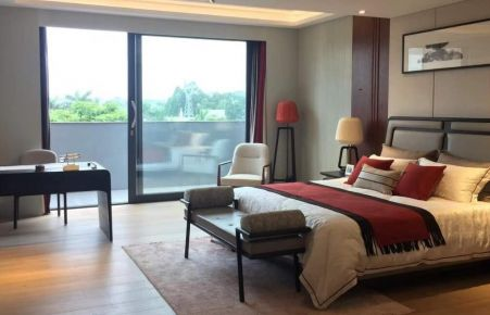 华润城简约两居室装修效果图