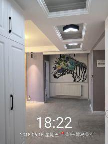 荣盛鹭岛荣府现代简约三居室设计案例