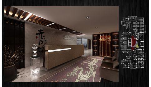 赤水坊酒坊总公司现代风格办公室装修
