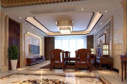 保利中央公馆现代三居室设计效果图