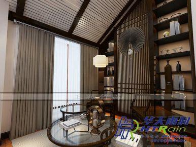 哈西悦城170㎡中式风格装修效果图