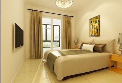 王府城现代简约三居室装修效果图