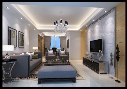 世欧王庄现代风格四居室装修案例
