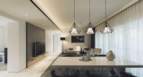 嘉兴盛世豪庭现代三居室装修效果图