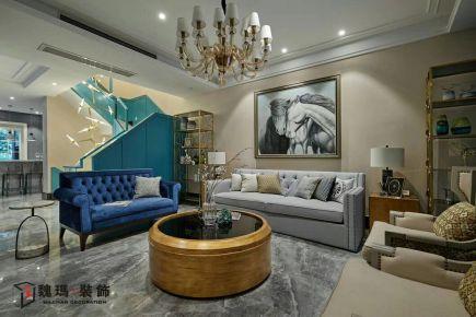 廊坊安瑞家园小区 现代风格三房装修设计