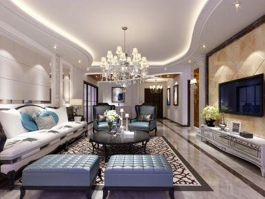 现代风格两房装修效果图 珠海银星花园两房装修