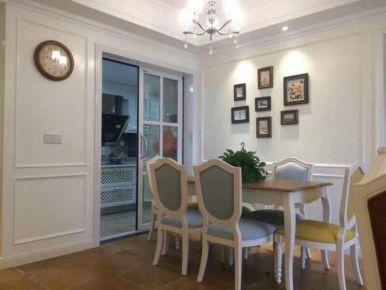 武汉百瑞景美式风格三居室装修案例