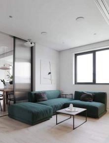 北京天通苑西三区现代三居室装修效果图