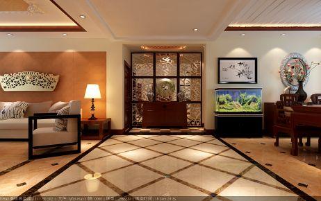 奢华中式风格三房装修 中式风格家庭装修效果图欣赏