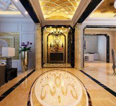 欧式新古典风格装修 复古风四房装修设计