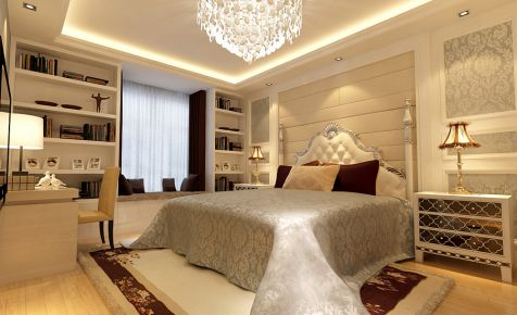 现代简约风格三房装修案例 重庆现代风格家庭装修效果图