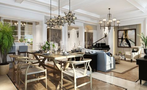 南山雨果别墅项目装修简美风格设计