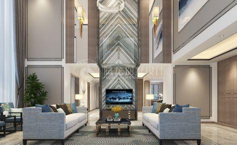 颐湾丽庭400平别墅现代风格设计