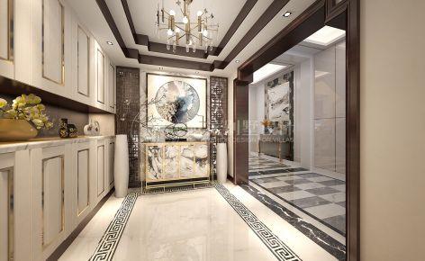 东海御庭650平独栋别墅简约风格