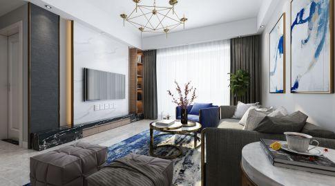 简约风格三房装修效果图欣赏 广州花都区尚品雅居