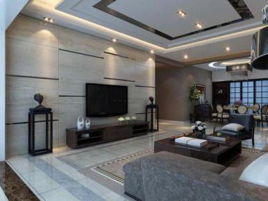 广州花都时代紫林 简约风格家庭装修设计