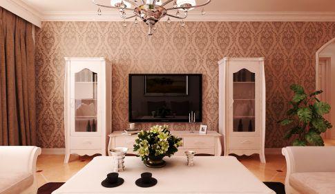 西安美福园115m²简欧两居室实景案例