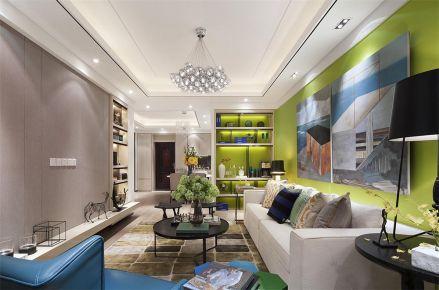 西安绿地国际花都两居室实景案例