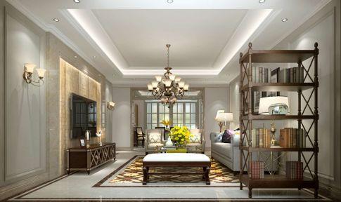 两室两厅轻奢风装修效果图 轻奢风格两房装修设计