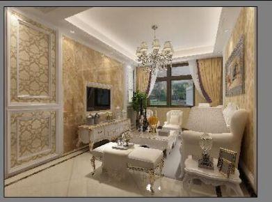 欧式风格自建别墅案例图