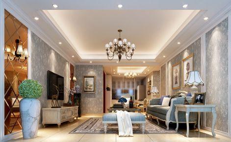 欧式公寓设计案例效果图