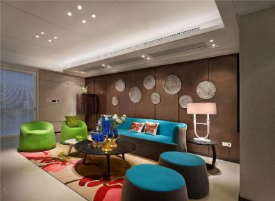 朝阳区-北京华侨城 中式风格家庭装修设计
