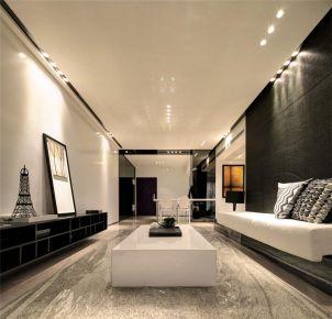 西安英郡年华 现代风格两房装修设计效果图