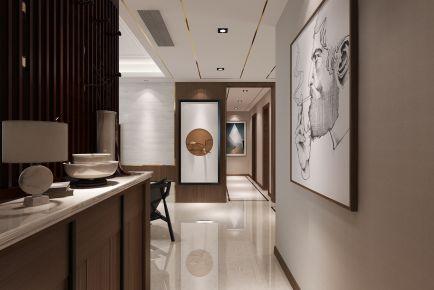 西安曲江观山悦两居室混搭风格装修效果图