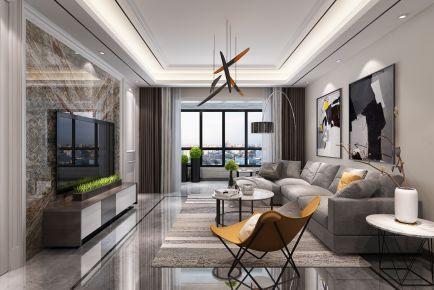 西安金辉世界城两室现代风格装修效果图