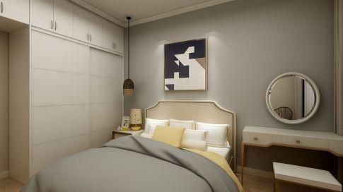 西安天琴湾小两室北欧装修效果图