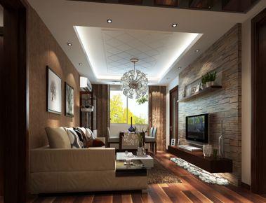 现代简约三居室装修设计 现代简约家庭装修效果图