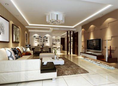 欧美风情 欧式混搭风格三居室装修