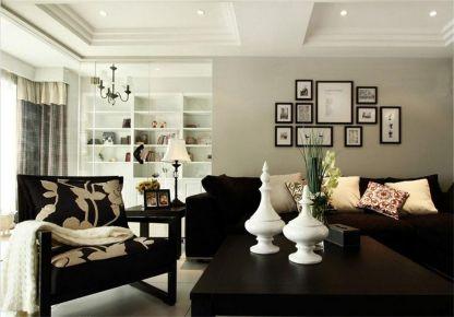 田园风格两房装修设计 田园风格家庭装修效果图欣赏