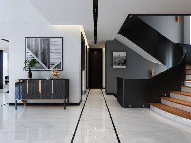 御涛园别墅项目装修现代风格设计