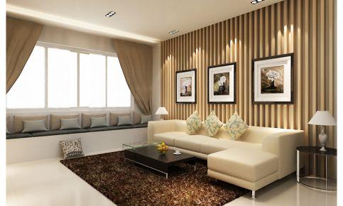 现代风格三房装修设计 现代风格家庭装修效果图欣赏