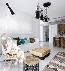 舒适装修设计案例  现代风格家庭装修效果图欣赏