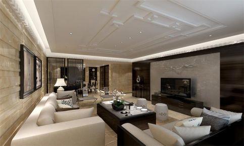 新中式风格四房装修设计 中式风格家装效果图