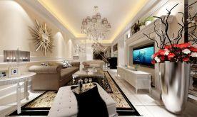 现代简约风格三房装修 现代附简约风格家装效果图