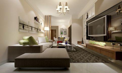 现代风格三房装修效果图欣赏