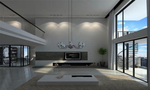 现代风格复式楼装修设计 复式现代风格装修效果图