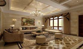 欧式别墅装修设计 欧式风格别墅装修效果图