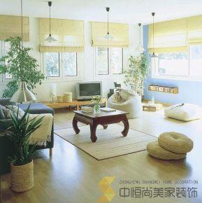 西安丹轩坊两居日式风格家庭装修效果图