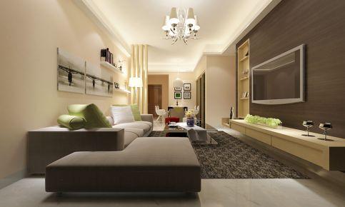 广州航空花园 现代风格三房装学设计欣赏